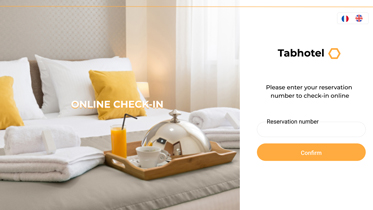 hotel check-in en ligne