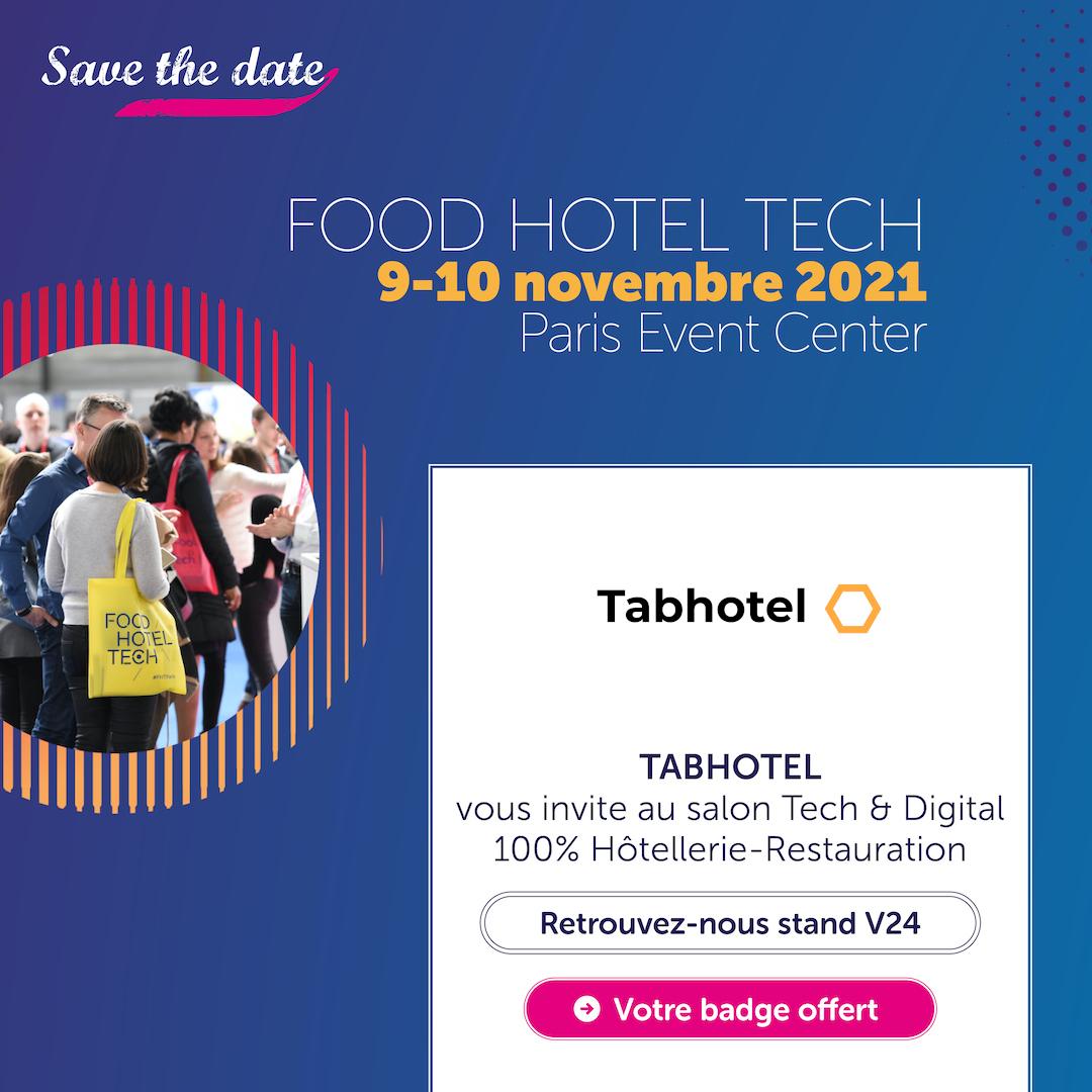 Food Hotel Tech Paris - FHT 2021 | Tabhotel